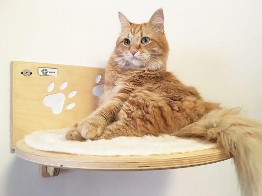 Mensola per gatti artigianale athleticat