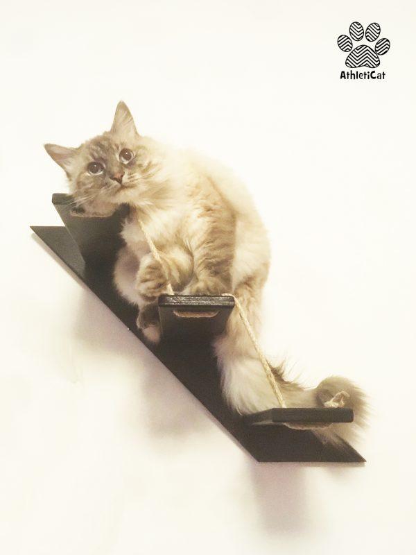 Scala per gatti legno