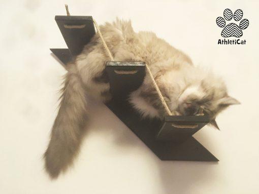Scala per gatti in legno