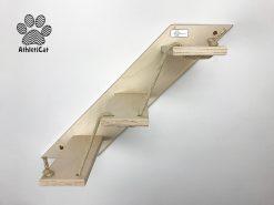 Scaletta per gatti artigianale in legno